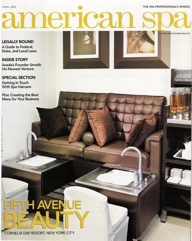 American Spa Magazine Cover