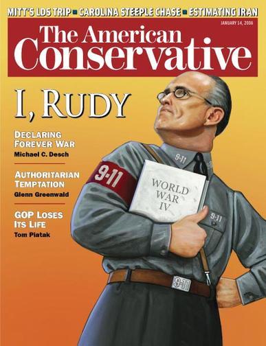 American Conservative Magazine Cover