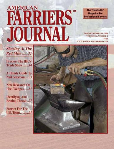 American Farriers Journal Magazine Cover