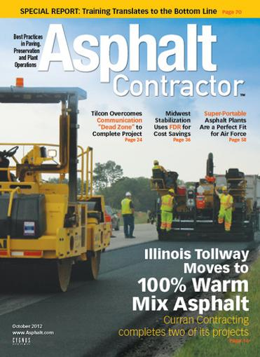 Asphalt Contractor Magazine Cover