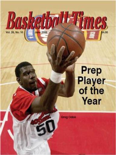 Basketball Times Magazine Cover