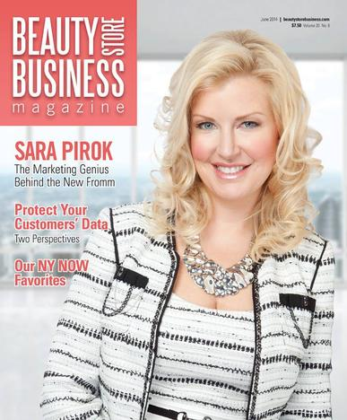 Beauty Store Business Magazine Cover