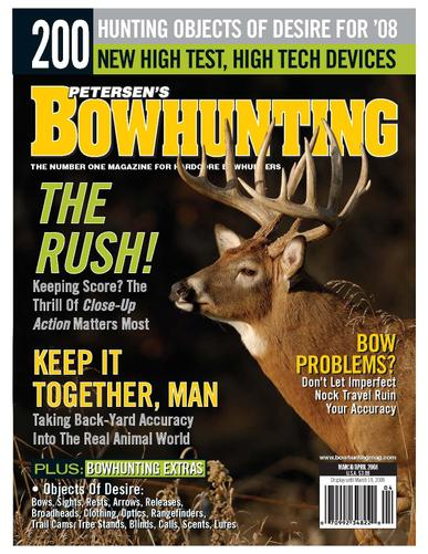 Bowhunting Magazine Cover