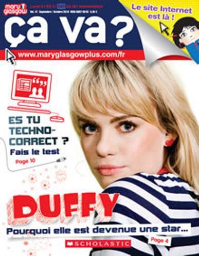 Ca Va? Magazine Cover