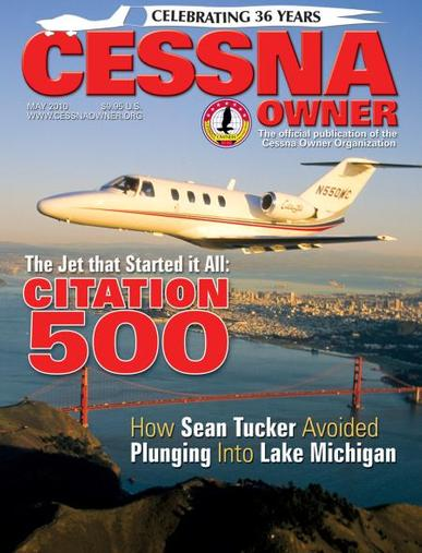 Cessna Owner Magazine Cover