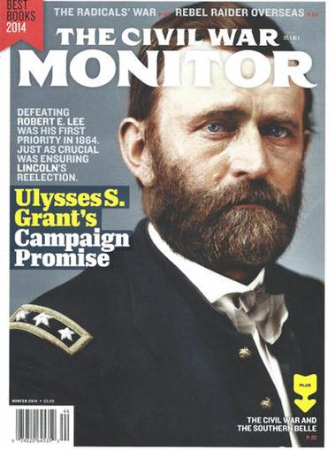 Civil War Monitor Magazine Cover