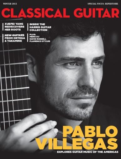 Classical Guitar Magazine Cover