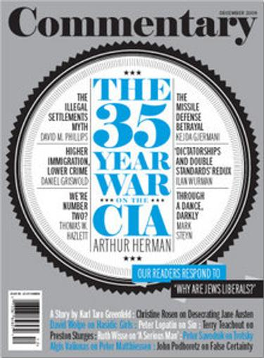 Commentary Magazine Cover