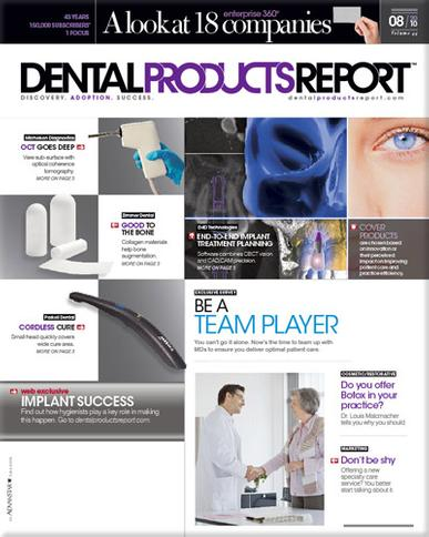 Dental Products Report Magazine Cover