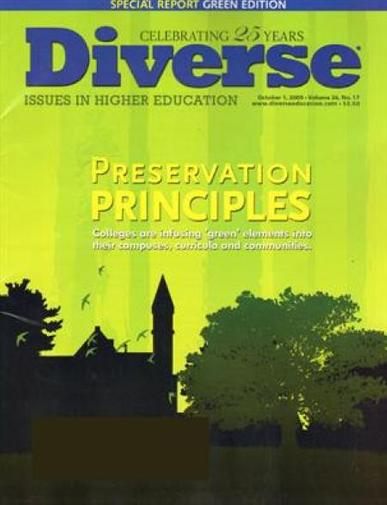 Diverse Issues In Higher Education Magazine Cover