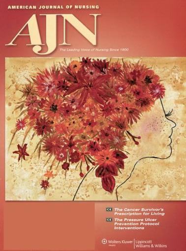 American Journal of Nursing Cover