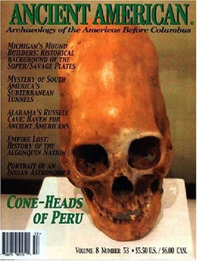 Ancient American Magazine Cover