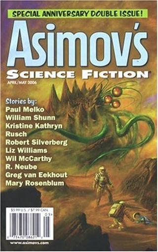 Asimov Science Fiction Magazine Cover