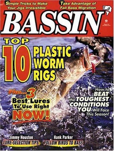 Bassin' Magazine Cover