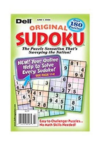 Dell Original Sudoku Magazine Cover