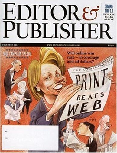 Editor & Publisher Magazine Cover
