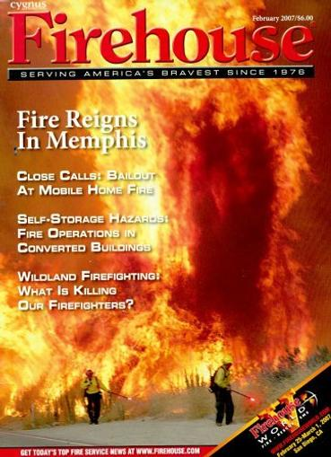 Firehouse Magazine Cover