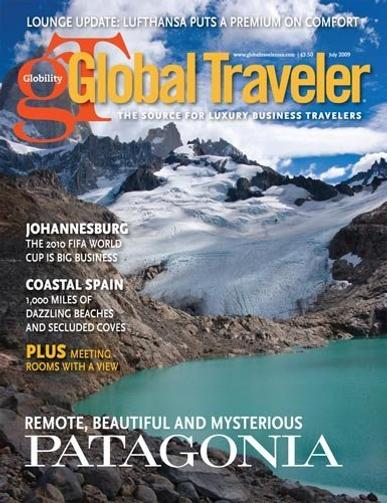 Global Traveler Magazine Cover