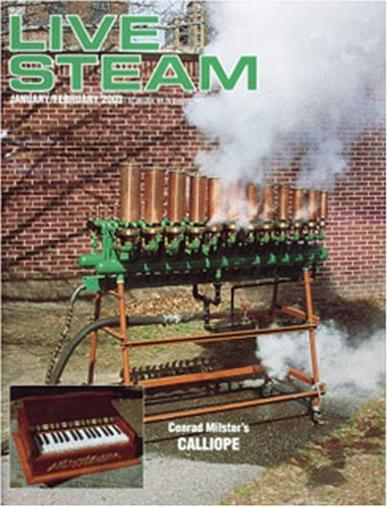 Live Steam & Railroading Magazine Cover