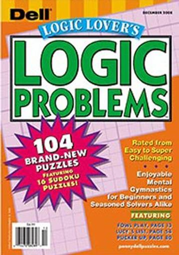 Logic Lover's Logic Problems Magazine Cover