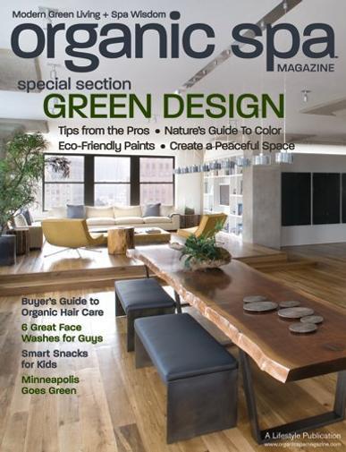 Organic Spa Magazine Cover
