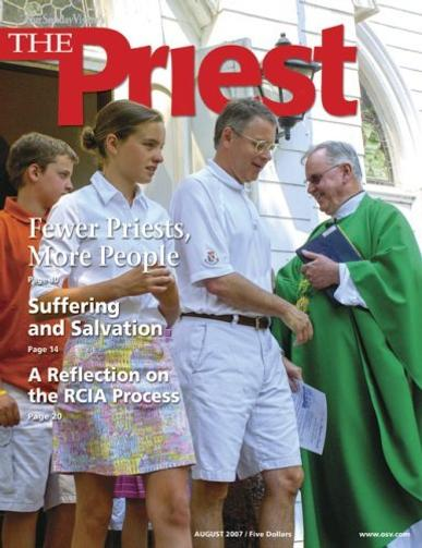 The Priest Magazine Cover