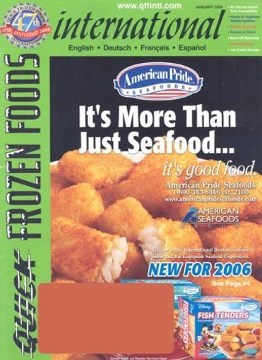Quick Frozen Foods International Magazine Cover