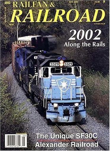 Railfan & Railroad Magazine Cover