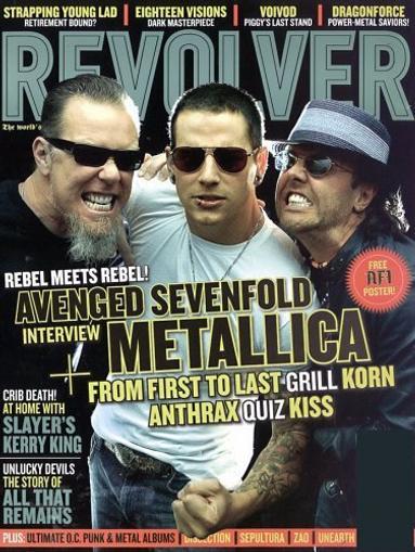 Revolver Magazine Cover