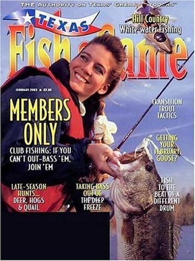 Texas Fish & Game Magazine Cover