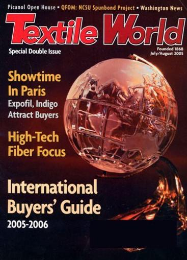 Textile World Magazine Cover