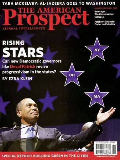 American Prospect Magazine Cover
