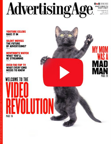 Advertising Age Magazine Cover