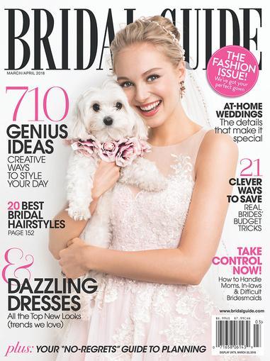 Bridal Guide Magazine Cover