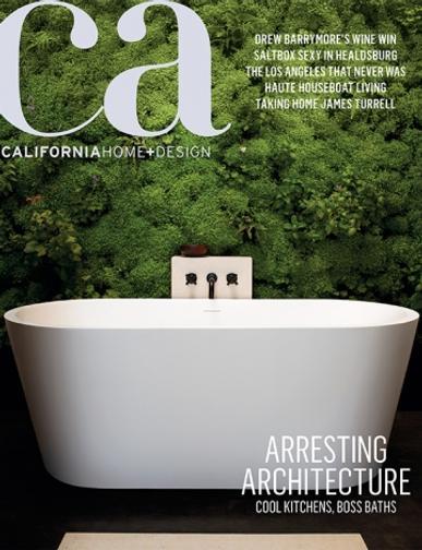California Home & Design Magazine Cover