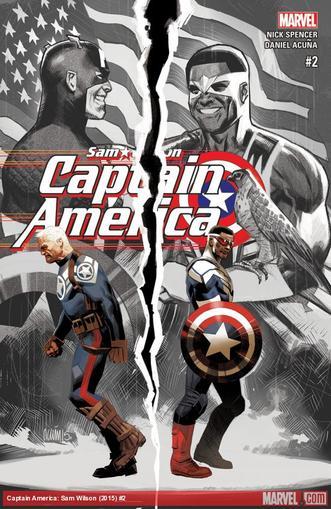 Captain America: Sam Wilson Magazine Cover
