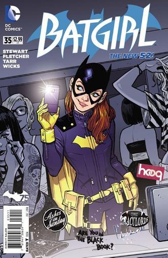 Batgirl Magazine Cover