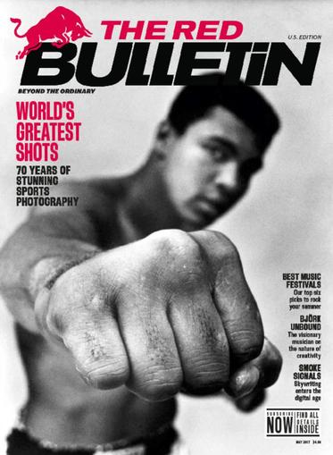 The Red Bulletin Magazine May 1st, 2017 Issue Cover
