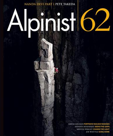 Alpinist Magazine May 2nd, 2018 Issue Cover