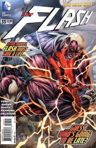The Flash Magazine Cover