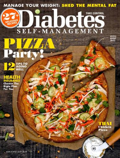 Diabetes Self Management Magazine March 1st, 2018 Issue Cover