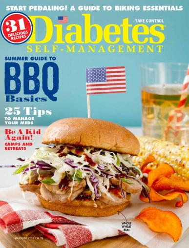 Diabetes Self Management Magazine May 1st, 2018 Issue Cover