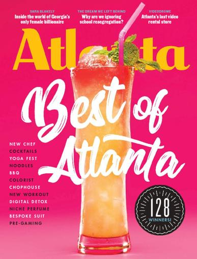 Atlanta Magazine December 1st, 2017 Issue Cover