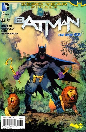 Batman Magazine Cover
