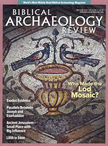 Biblical Archaeology Review Magazine April 1st, 2016 Issue Cover
