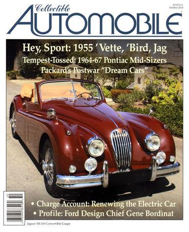 Collectible Automobile Magazine Cover