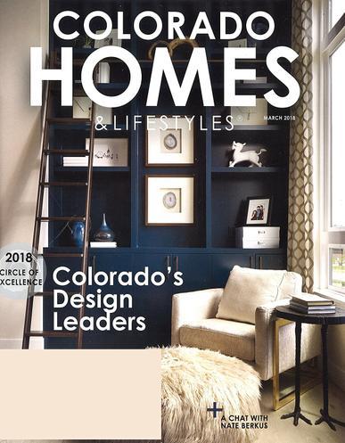 Colorado Homes & Lifestyles Magazine Cover