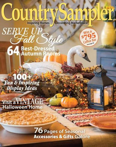Country Sampler Magazine Cover