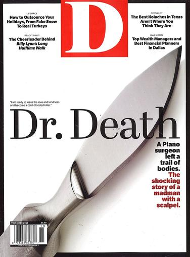 D Magazine Cover