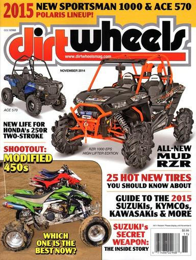 Dirt Wheels Magazine Cover